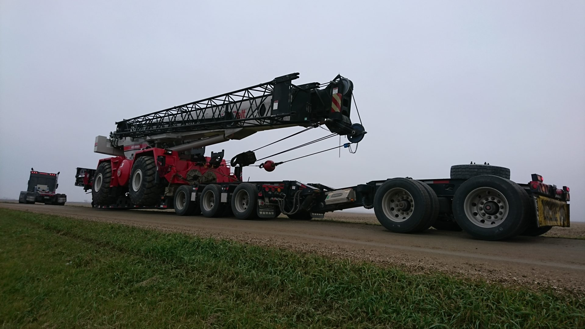 heavy hauling lowbedding maintoba
