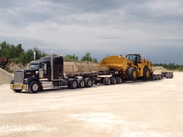 heavy hauling service Winnipeg