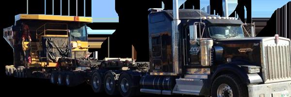 heavy hauling & Lowbedding