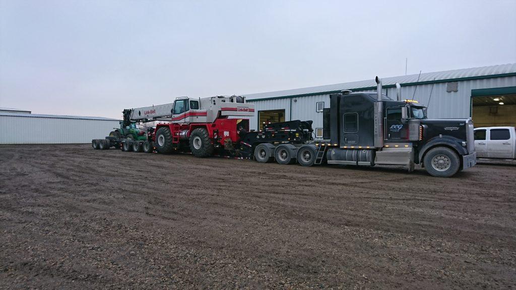 heavy haul crane