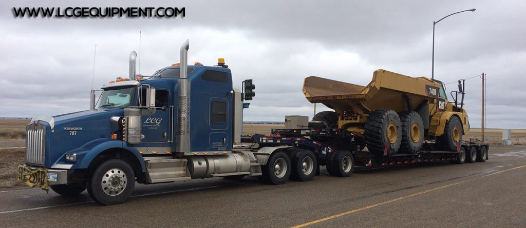 heavy equipment moving