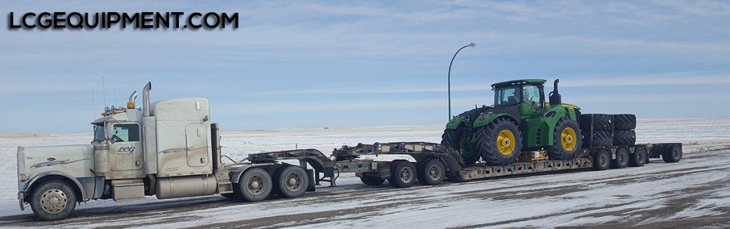john deere tractor heavy haul