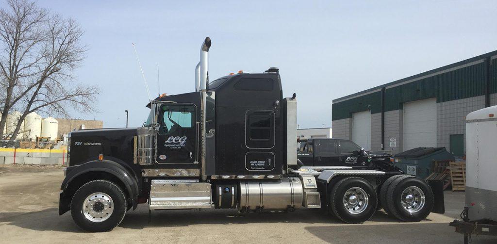 new lcg equipment truck