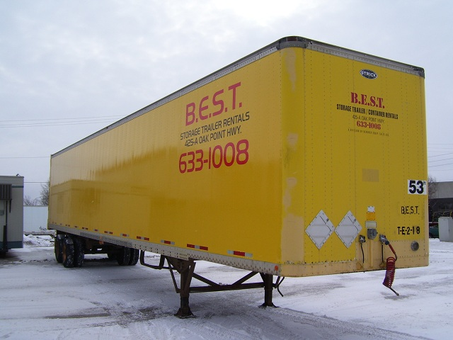 storage trailer rentals winnipeg