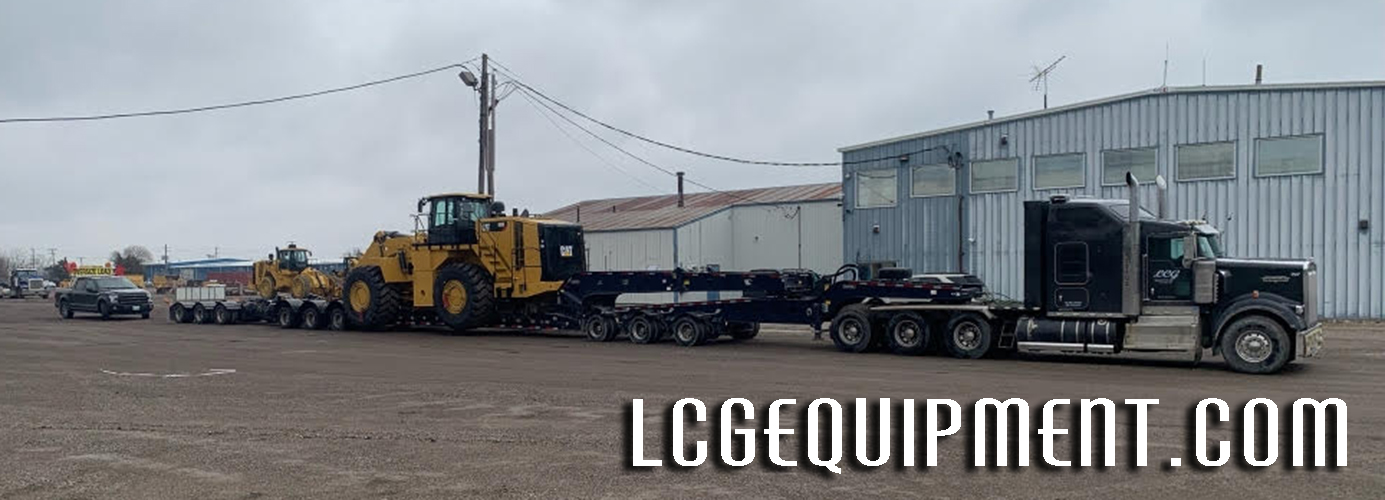 Need a Caterpillar 988K Wheel Loader Moved - LCG Equipment
